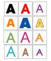 See the Letter A | Letter Matching